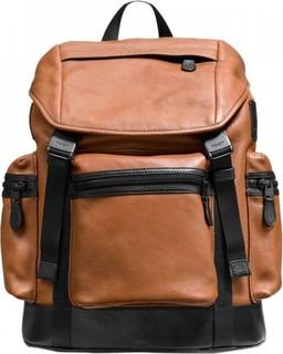 Coach Saddle Leather Men's Trek Bagpack Brown - F71976-SDBK 1499