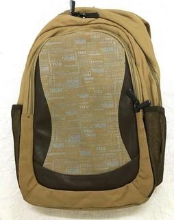 Thrumm Laptop Backpack Beige color 49