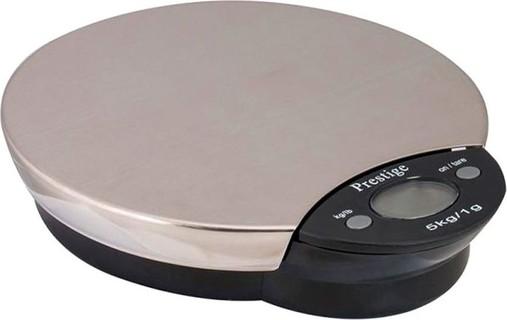 Prestige Digital Scale 5kg Silver & Black PR8018