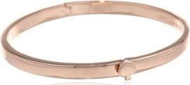 Kate Spade new york Thin Hinge Rose Gold-Tone Colored Bangle Bracelet for Women