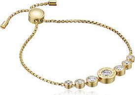 Michael Kors Logo Jet Set Crystal Slider Bangle Bracelet for Women