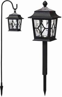 Microlab Plastic Dual Mount LED Lantern Black - MPDMLLB 85
