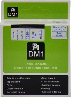 DYMO 45804 TP 19 7 BU WH D1 - DYS0720850 80