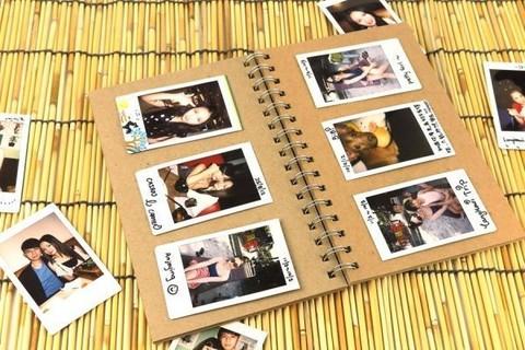 CAIUL Mini Album Little Bird Photo Frame For Instax Mini 8 70 7s 25 50s 90 Polaroid Film
