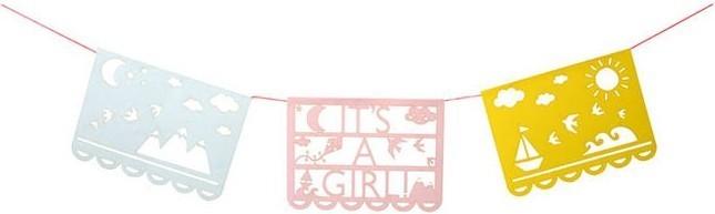 Meri Meri It's A Girl Card (& Bunting)