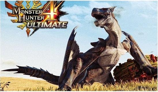 Nintendo New 3DS Console Monster Hunter 4 Ultimate Edition PAL - NN3DSCMH4-PAL