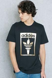 Adidas Trefoil Fire T-Shirt