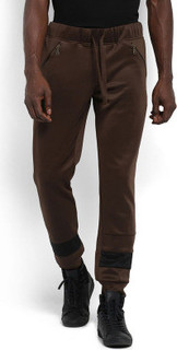 Mr Button Foma Joggers, Brown