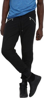 Mr Button Joggers, Black