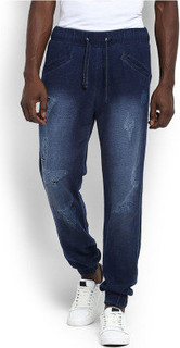 Mr Button Joggers with Damage, Blue