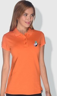 Creo Dubai Victory Sign polo - UAE Flag Orange