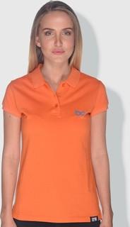 Creo Glasses Polo Shirt - Orange Blue & Green