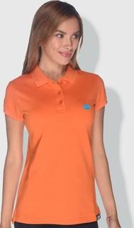 Creo Lips Polo Shirt - Orange Blue & Green
