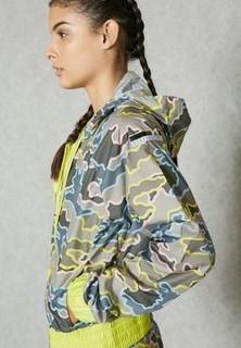 Adidas Zip Camo Jacket