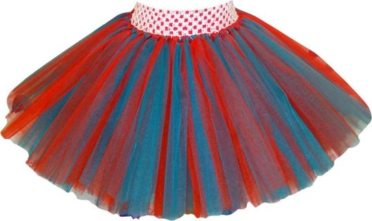 Tulip by Dolmar Red Hat Short Skirt Red And Green