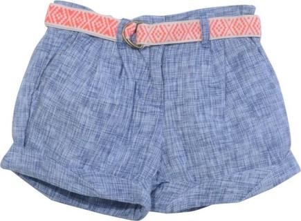 Gingersnaps Blue La Boheme Chic Casual Shorts