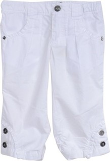 Absorba White Frilled Capris