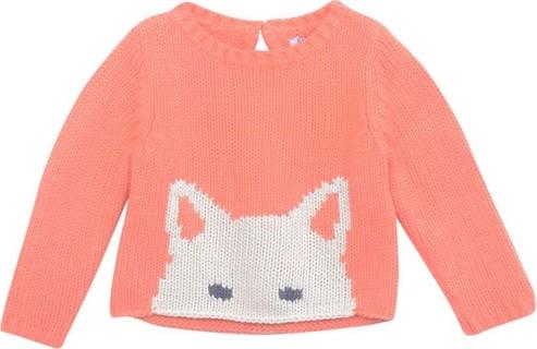 Gingersnaps Orange Baby Winter Luxe Jumper