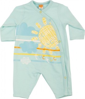 Tuc Tuc - Jersey Rompers Without Feet - Turquoise