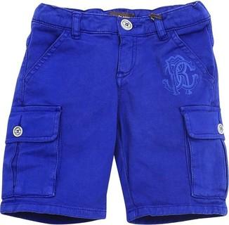 Roberto Cavalli Blue Casual Shorts