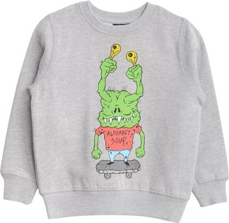 Alphabet Soup Grey Monster Jumper