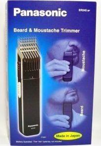 Panasonic ER240BP Beard Trimmer (Black)