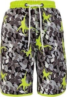 Snapper Rock Camo Monkey Neon Board Shorts