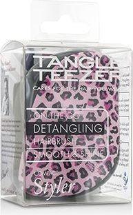Tangle Teezer Compact Styler On-The-Go Detangling Hair Brush - Pink Kitty