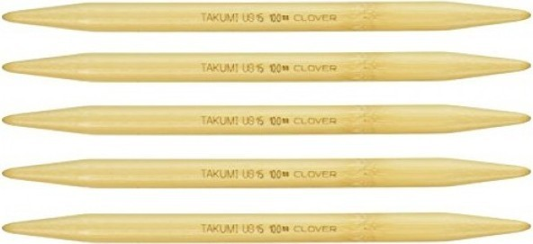 Clover Takumi 7-Inch Double point, Size 15
