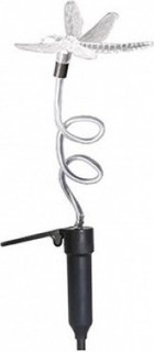 Microlab Lumisol Clear Butterfly Stake Solar Light