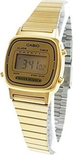 Casio for Men Digital LA670WGA-9D Stainless Steel Watch