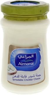 Almarai Al Marai Spreadable Cheddar Cheese 200 Gm