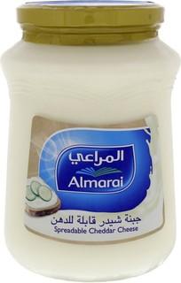 Almarai Al Marai Spreadable Cheddar Cheese 900 Gm