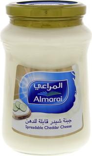 Almarai Spreadable Cheddar Cheese 500 Gm