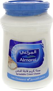 Almarai Spreadable Cream Cheese Lower Cholesterol 500 Gm