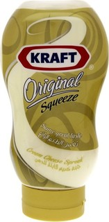 Kraft Original Squeeze Cream Cheese Spread 440 Gm