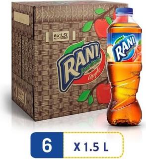 Rani Non Float Apple, Fruit Drink, PET bottle, 1.5 l - Pack of 6
