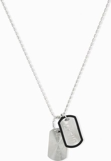 Diesel Tag Stainless Steel Necklace