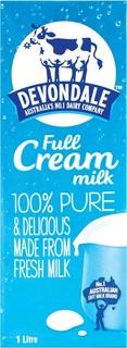 Devondale Full Cream Milk 1 Litre