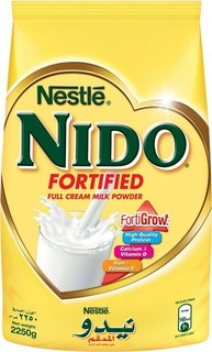 Nestle Nido Fortified Full Cream Milk Powder Pouch 2.25 Kg