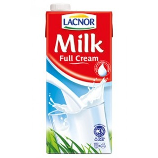 Lacnor Full Cream Milk - 1L (Case of 12)