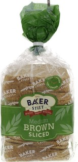 Baker Street Medium Brown Sliced Bread 600 Gm