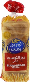 Lusine Sliced Bread White 600 Gm