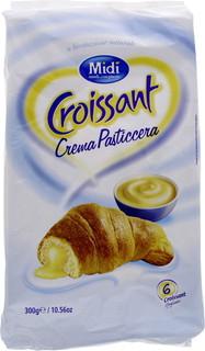 Midi Croissant Crema Pasticcera 50 Gm X 6