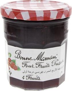 Bonne Mamn Bonne Maman Four Fruits Preserve 370 Gm