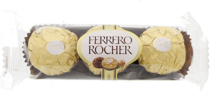 Ferrero Rocher Hazelnut & Milk Chocolate 30 gm
