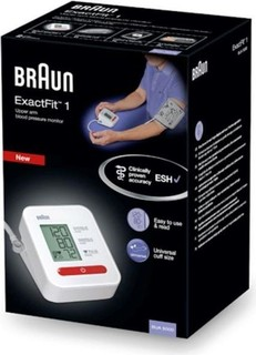 BRAUN EXACT FIT - 1 UPPER ARM BP MONITOR BUA5000EU