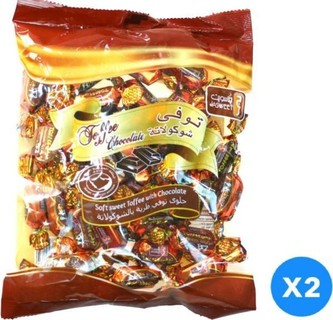 Jasweet Toffee Chochlate 350 gm, Pack of 2