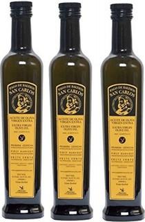 Pagos Baldios San Carlos 3 bottles - Pago Baldios San Carlos Extra virgin olive oil 500 ml 17-Ounce