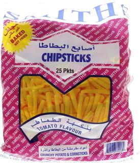 Smith's Smiths Chipsticks Tomato Flavour 25 x 30 Gm